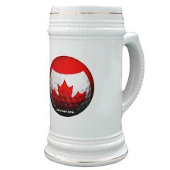 Canadian Golf Stein