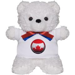 Canadian Golf Teddy Bear