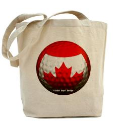 Canadian Golf Tote Bag