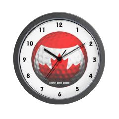 Canadian Golf Wall Clock