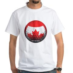 Canadian Golf White T-Shirt