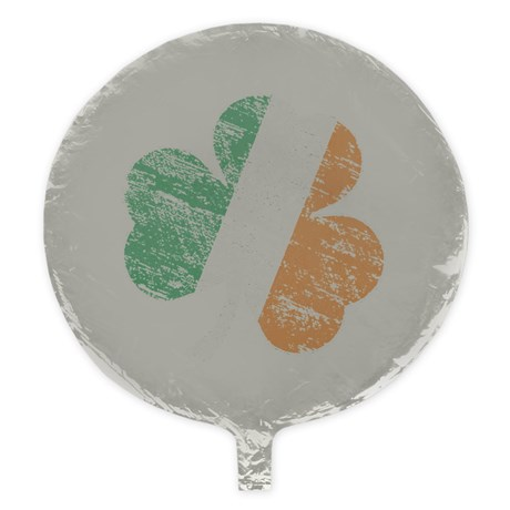 Vintage Distressed Irish Flag Shamro Balloon