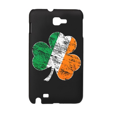 Vintage Distressed Irish Flag Shamrock Galaxy Note