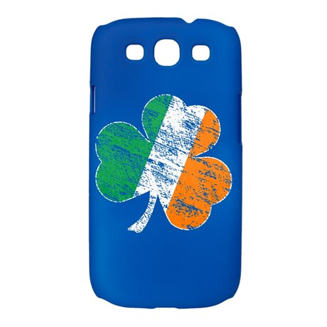 Vintage Distressed Irish Flag Shamrock Galaxy S3 C