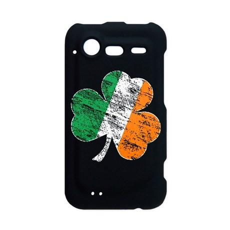 Vintage Distressed Irish Flag Shamrock Incredible