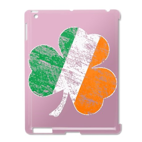 Vintage Distressed Irish Flag Shamrock iPad2 Case