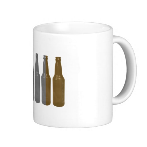 Irish Beer Bottles Basic White Mug