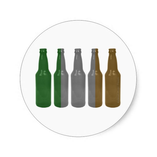 Irish Beer Bottles