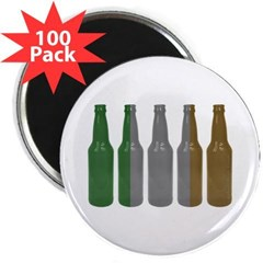 "Irish Beers 2.25"" Magnet (100 pack)"