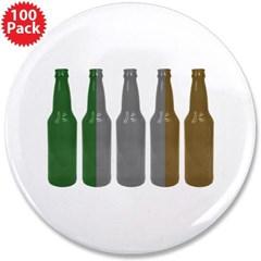 "Irish Beers 3.5"" Button (100 pack)"