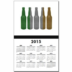 Irish Beers Calendar Print