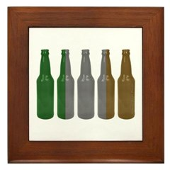 Irish Beers Framed Tile