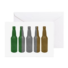 Irish Beers Greeting Cards (Pk of 10)