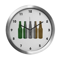 Irish Beers Modern Wall Clock