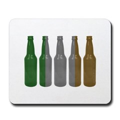 Irish Beers Mousepad