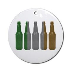 Irish Beers Ornament (Round)