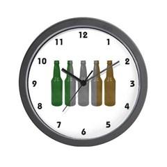 Irish Beers Wall Clock