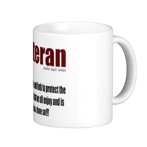 Veteran Definition Classic White Mug
