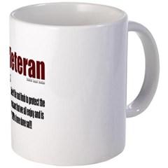 Veteran Definition Coffee Mug