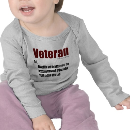 Veteran Definition Infant Bella Long Sleeve T-Shirt