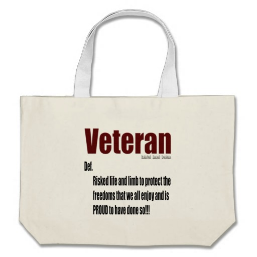 Veteran Definition Jumbo Tote
