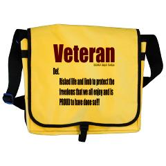 Veteran Definition Messenger Bag