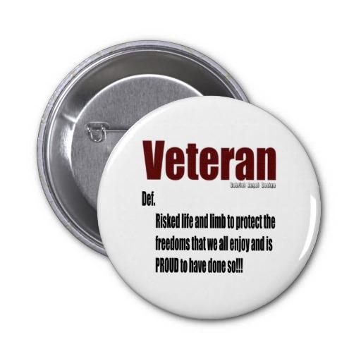 Veteran Definition Pin
