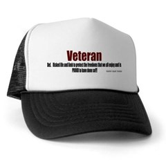 Veteran Definition Trucker Hat