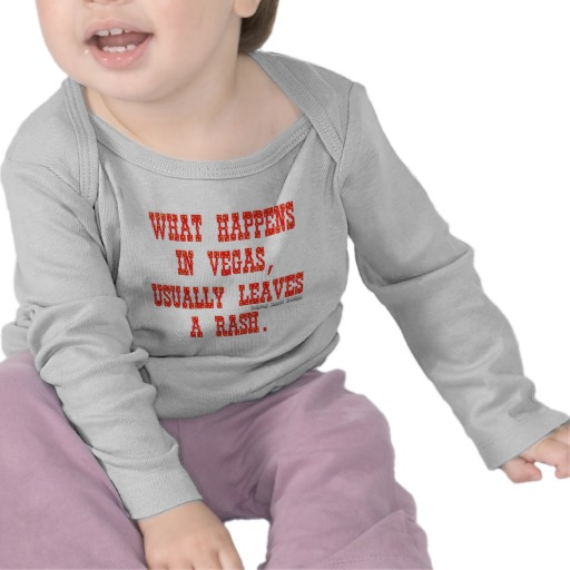 What Happens in Vegas, Usually Leaves a Rash. Infant Bella Long Sleeve T-Shirt
