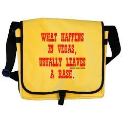 What Happens in Vegas ... Messenger Bag