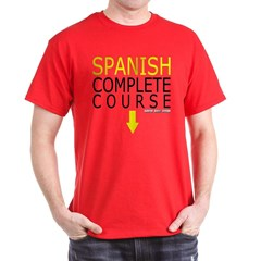 Spanish Complete Course Dark T-shirt