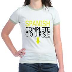 Spanish Complete Course Junior Ringer T-Shirt
