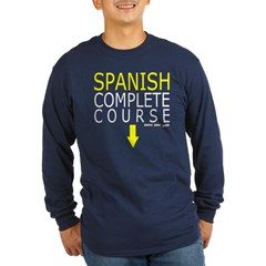 Spanish Complete Course Long Sleeve Dark T-Shirt 2