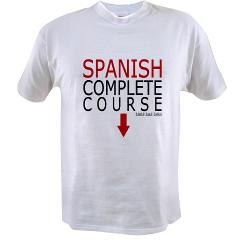 Spanish Course Value T-shirt