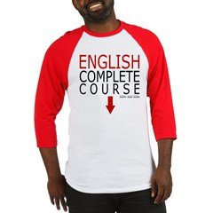 English Complete Course Baseball Jersey T-Shirt