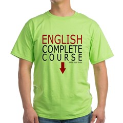 English Complete Course Green T-Shirt