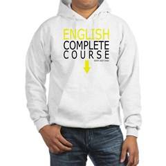 English Complete Course Hooded Sweatshirt