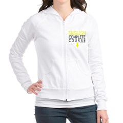 English Complete Course Junior Zip Hoodie