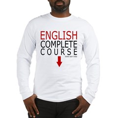 English Complete Course Long Sleeve T-Shirt