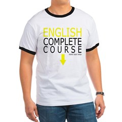 English Complete Course Ringer T-Shirt