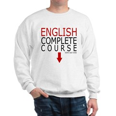 English Complete Course Sweatshirt