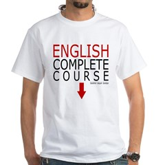 English Complete Course White T-Shirt
