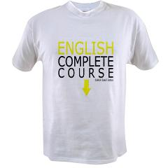 English Course Value T-shirt