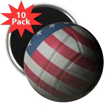 "USA Volleyball 2.25"" Magnet (10 pack)"