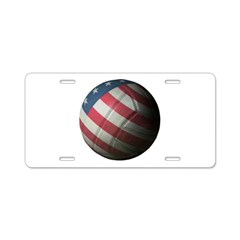 USA Volleyball Aluminum License Plate
