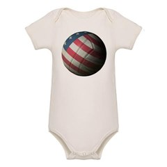 USA Volleyball Baby Bodysuit (Organic)
