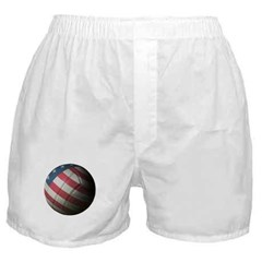 USA Volleyball Boxer Shorts