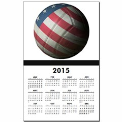 USA Volleyball Calendar Print