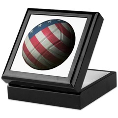 USA Volleyball Keepsake Box