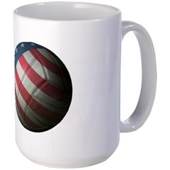 USA Volleyball Large Mug